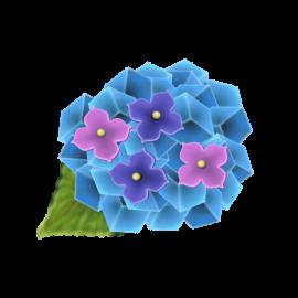 紫陽花の和菓子1