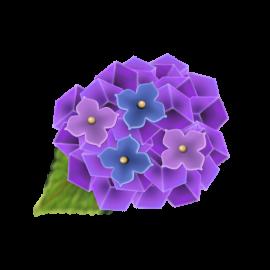紫陽花の和菓子2
