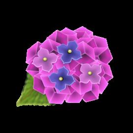 紫陽花の和菓子3