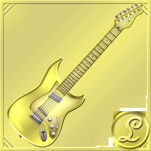 金のギター