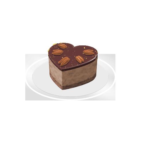 アーモンドチョコムース
