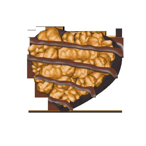 ピーナッツチョコ