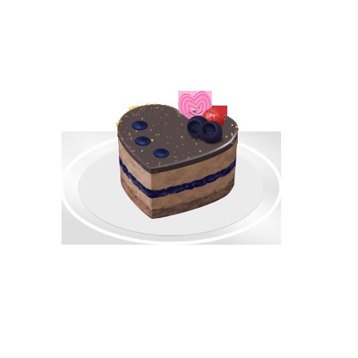 ベリーチョコムース