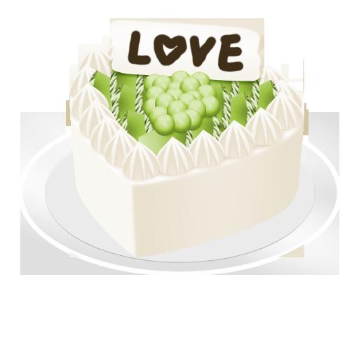 メロンチョコケーキ