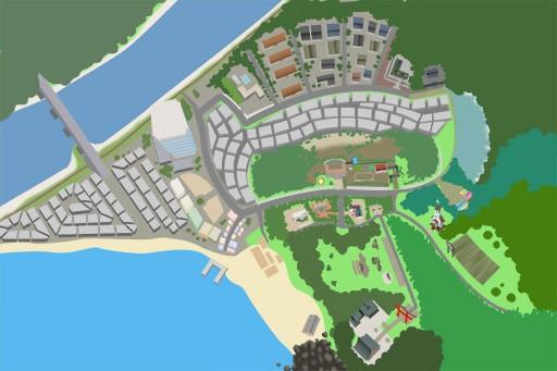 翔栄町地図