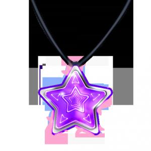 ペンダント(紫)