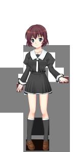 千羽谷第一高校女子冬制服