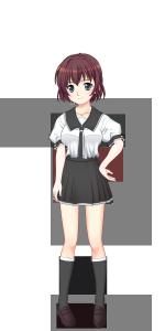 千羽谷第一高校女子夏制服