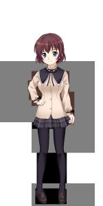 浜咲学園女子冬制服