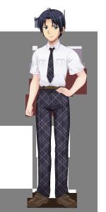 浜咲学園男子夏制服